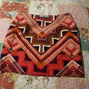 Merona tribal print skirt